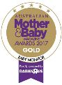 Australian Mother & Baby Magazine Awards 2017 - Gold